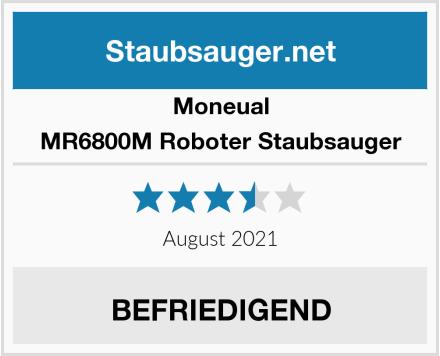 Moneual MR6800M Roboter Staubsauger Test