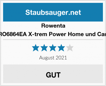 Rowenta RO6864EA X-trem Power Home und Car  Test