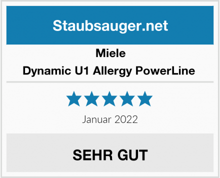 Miele Dynamic U1 Allergy PowerLine  Test