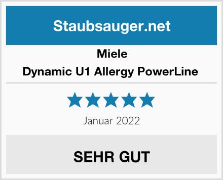 Miele Dynamic U1 Allergy PowerLine  Test