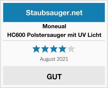 Moneual HC600 Polstersauger mit UV Licht Test