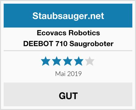 Ecovacs Robotics DEEBOT 710 Saugroboter Test