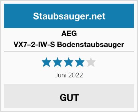 AEG VX7–2-IW-S Bodenstaubsauger Test