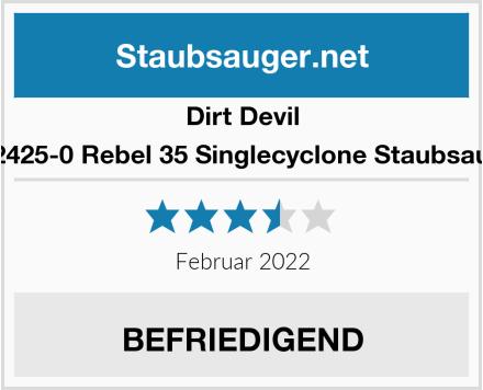 Dirt Devil DD2425-0 Rebel 35 Singlecyclone Staubsauger Test