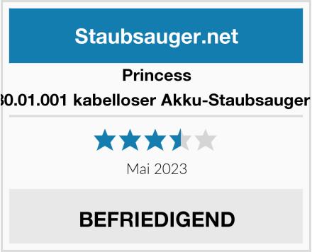 Princess 01.339480.01.001 kabelloser Akku-Staubsauger Silencio Test