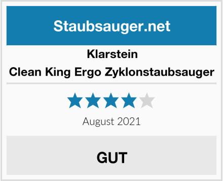Klarstein Clean King Ergo Zyklonstaubsauger Test