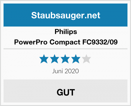 Philips PowerPro Compact FC9332/09 Test
