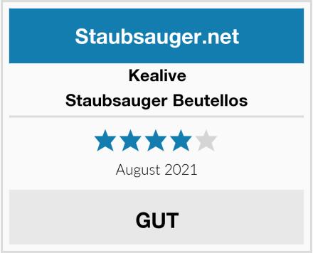 Kealive Staubsauger Beutellos Test