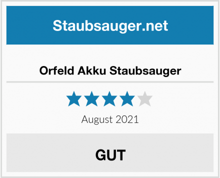 Orfeld Akku Staubsauger Test