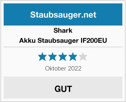 Shark Akku Staubsauger IF200EU Test