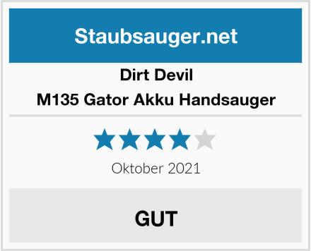 Dirt Devil M135 Gator Akku Handsauger Test