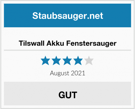 Tilswall Akku Fenstersauger Test