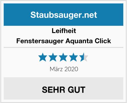 Leifheit Fenstersauger Aquanta Click Test