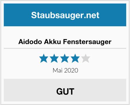 Aidodo Akku Fenstersauger Test