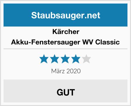 Kärcher Akku-Fenstersauger WV Classic Test