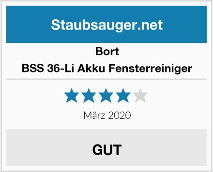 Bort BSS 36-Li Akku Fensterreiniger Test