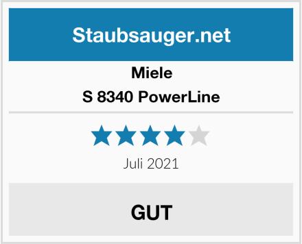 Miele S 8340 PowerLine Test