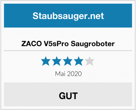 ZACO V5sPro Saugroboter Test