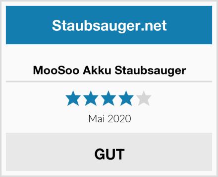 MooSoo Akku Staubsauger Test