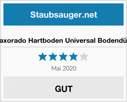 Maxorado Hartboden Universal Bodendüse Test