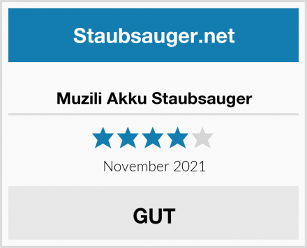 Muzili Akku Staubsauger Test