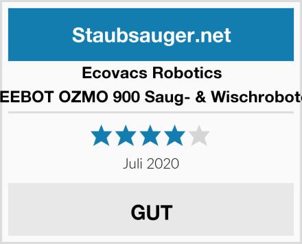 Ecovacs Robotics DEEBOT OZMO 900 Saug- & Wischroboter Test