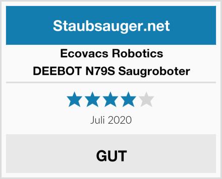 Ecovacs Robotics DEEBOT N79S Saugroboter Test