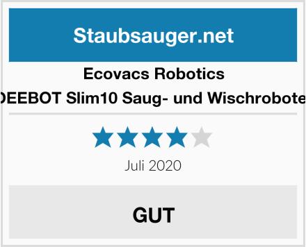 Ecovacs Robotics DEEBOT Slim10 Saug- und Wischroboter Test