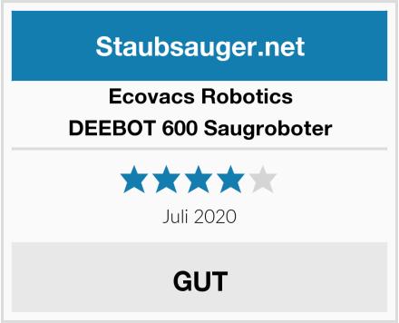 Ecovacs Robotics DEEBOT 600 Saugroboter Test
