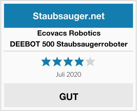Ecovacs Robotics DEEBOT 500 Staubsaugerroboter Test