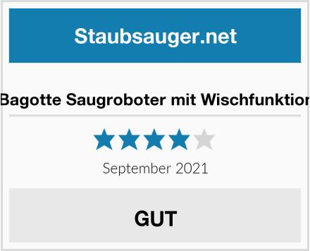 Bagotte Saugroboter mit Wischfunktion Test