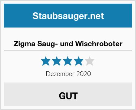 Zigma Saug- und Wischroboter Test