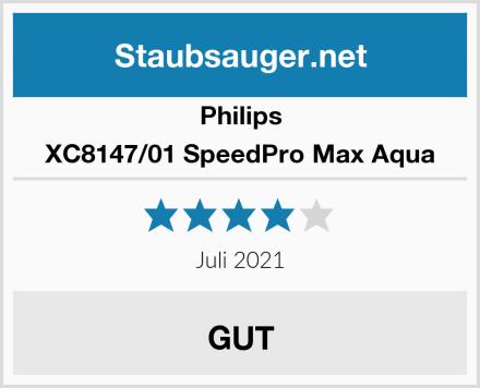 Philips XC8147/01 SpeedPro Max Aqua Test