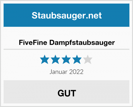 FiveFine Dampfstaubsauger Test