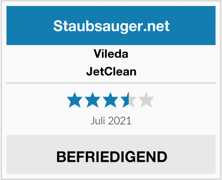 Vileda JetClean Test