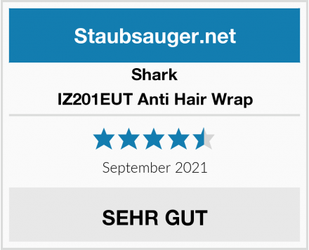 Shark IZ201EUT Anti Hair Wrap Test