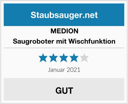 Medion Saugroboter mit Wischfunktion Test