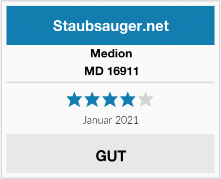 Medion MD 16911 Test