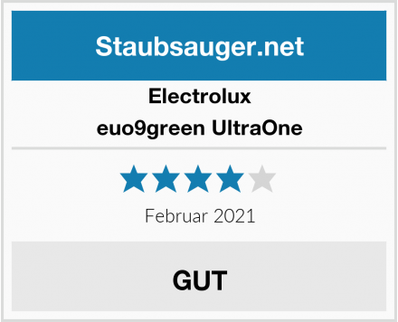 Electrolux euo9green UltraOne Test