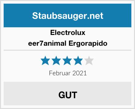 Electrolux eer7animal Ergorapido Test