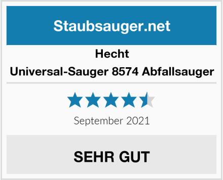Hecht Universal-Sauger 8574 Abfallsauger Test