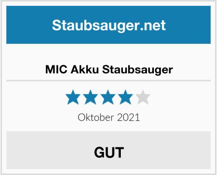 MIC Akku Staubsauger Test