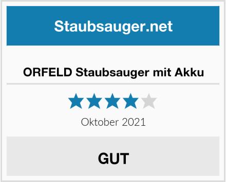 ORFELD Staubsauger mit Akku Test