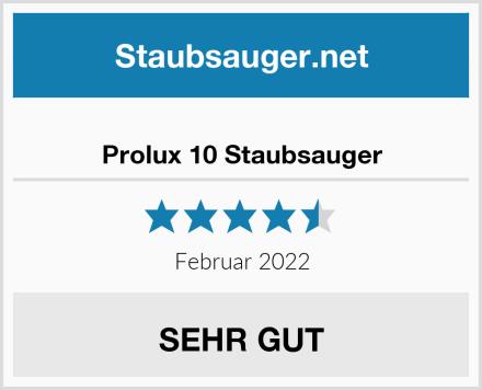 Prolux 10 Staubsauger Test
