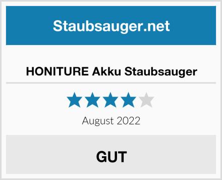 HONITURE Akku Staubsauger Test