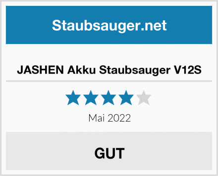 JASHEN Akku Staubsauger V12S Test