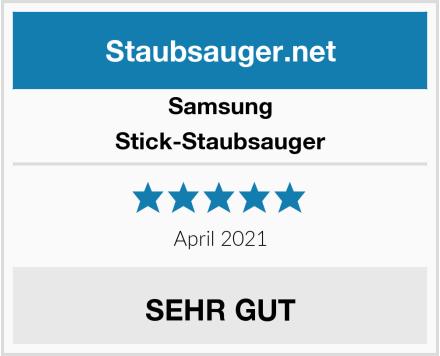 Samsung Stick-Staubsauger Test
