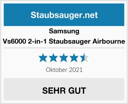 Samsung Vs6000 2-in-1 Staubsauger Airbourne Test