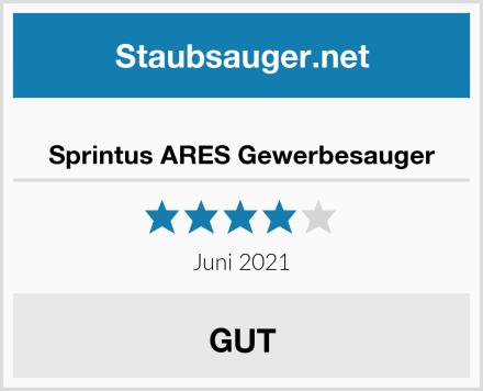 Sprintus ARES Gewerbesauger Test