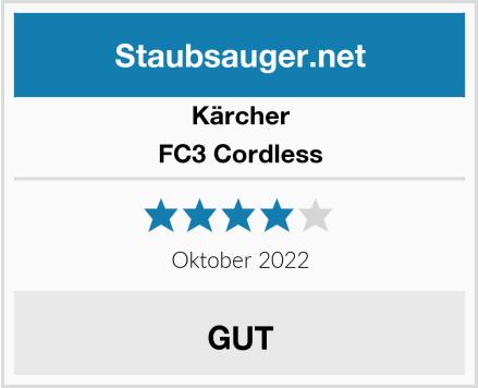 Kärcher FC3 Cordless Test